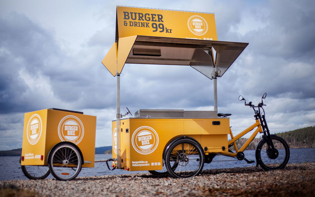 Bilder på nya cykeln från Burger Bike (Swedish post)